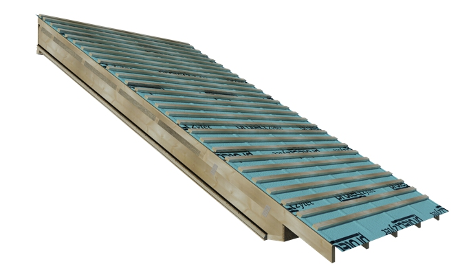 Roof battens included