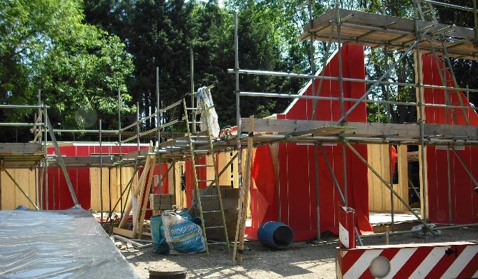 Timber eco homes