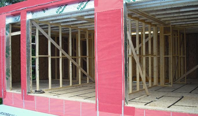 Contempory timber frame homes