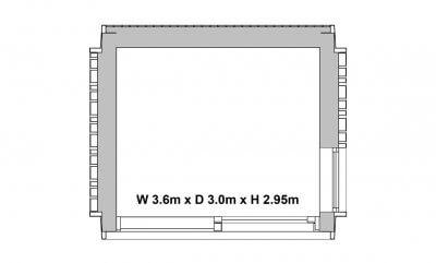 Garden Pod floorplan - 1