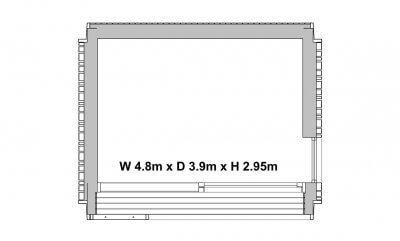 Garden Pod floorplan - 2