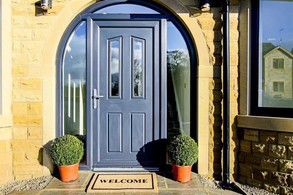 A welcoming arched entrance